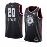 Camiseta All Star 2019 Boston Celtics Gordon Hayward #20 Negro