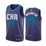 Camiseta Charlotte Hornets P. J. Washington NO 25 Statement Edition Violeta