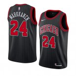 Camiseta Chicago Bulls Lauri Markkanen #24 Statement 2019-20 Negro