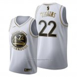 Camiseta Golden Edition Golden State Warriors Andrew Wiggins NO 22 2019-20 Blanco