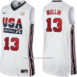 Camiseta USA 1992 Chris Mullin #13 Blanco
