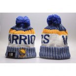 Gorro Beanie Golden State Warriors Azul Blanco
