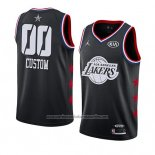 Camiseta All Star 2019 Los Angeles Lakers Personalizada Negro