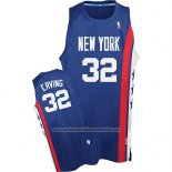 Camiseta Brooklyn Nets Julius Erving #32 Retro Azul