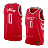 Camiseta Houston Rockets De'anthony Melton #0 Icon 2017-18 Rojo