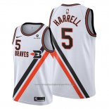Camiseta Los Angeles Clippers Montrezl Harrell NO 5 Classic Edition Blanco