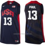 Camiseta USA 2012 Chris Paul #13 Negro