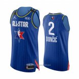 Camiseta All Star 2020 Dallas Mavericks Luka Doncic NO 2 Autentico Azul