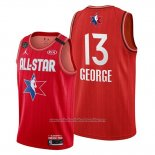 Camiseta All Star 2020 Los Angeles Clippers Paul George NO 13 Rojo