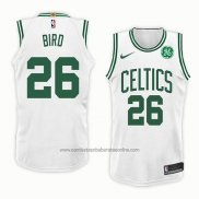 Camiseta Boston Celtics Jabari Bird #26 Association 2018 Blanco