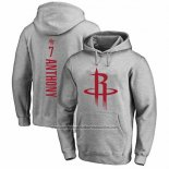Sudaderas con Capucha Carmelo Anthony Houston Rockets Gris3
