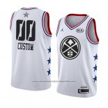 Camiseta All Star 2019 Denver Nuggets Personalizada Blanco