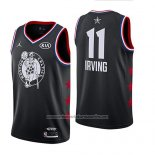 Camiseta All Star 2019 Boston Celtics Kyrie Irving #11 Negro
