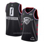 Camiseta All Star 2019 Oklahoma City Thunder Russell Westbrook #0 Negro