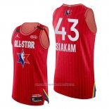 Camiseta All Star 2020 Eastern Conference Pascal Siakam NO 43 Rojo