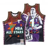 Camiseta All Star Orlando Magic Penny Hardaway NO 1 Hardwood Classics Mitchell & Ness Violeta