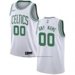 Camiseta Boston Celtics Nike Personalizada 17-18 Blanco
