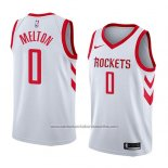 Camiseta Houston Rockets De'Anthony Melton 2017-18 Blanco