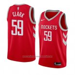 Camiseta Houston Rockets Gary Clark #59 Icon 2018 Rojo