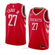 Camiseta Houston Rockets James Ennis III #27 Icon 2018 Rojo