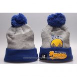 Gorro Beanie Golden State Warriors Azul Gris
