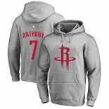 Sudaderas con Capucha Carmelo Anthony Houston Rockets Gris2