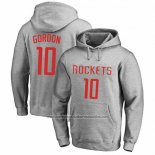 Sudaderas con Capucha Eric Gordon Houston Rockets Gris