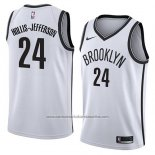 Camiseta Brooklyn Nets Hollis-Jefferson #24 Association 2018 Blanco
