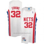 Camiseta Brooklyn Nets Julius Erving #32 Retro Blanco