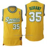 Camiseta Seattle SuperSonics Kevin Durant #35 Historic Amarillo2