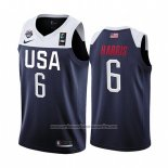 Camiseta USA Joe Harris #6 2019 FIBA Basketball World Cup Azul