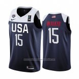 Camiseta USA Kemba Walker #15 2019 FIBA Basketball World Cup Azul
