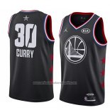 Camiseta All Star 2019 Golden State Warriors Stephen Curry #30 Negro