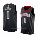 Camiseta Houston Rockets De'anthony Melton #0 Statement 2017-18 Negro