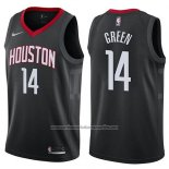 Camiseta Houston Rockets Gerald Green #14 Statement 2017-18 Negro