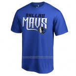 Camiseta Manga Corta Dallas Mavericks Azul Mavs