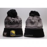 Gorro Beanie Golden State Warriors Gris Negro