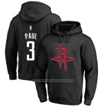 Sudaderas con Capucha Chris Paul Houston Rockets Negro1