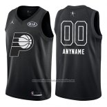 Camiseta All Star 2018 Indiana Pacers Nike Personalizada Negro