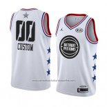 Camiseta All Star 2019 Detroit Pistons Personalizada Blanco