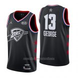 Camiseta All Star 2019 Oklahoma City Thunder Paul George #13 Negro