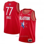 Camiseta All Star 2020 Dallas Mavericks Luka Doncic NO 77 Rojo