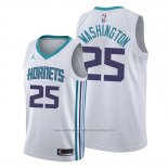 Camiseta Charlotte Hornets P. J. Washington NO 25 Association 2019-20 Blanco