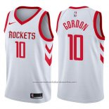 Camiseta Houston Rockets Eric Gordon #10 Swingman Association 2017-18 Blanco