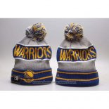 Gorro Beanie Golden State Warriors Gris Azul