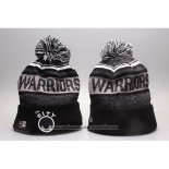 Gorro Beanie Golden State Warriors Negro Gris