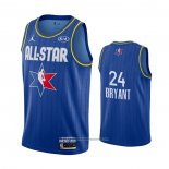 Camiseta All Star 2020 Los Angeles Lakers Kobe Bryant NO 24 Azul