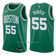 Camiseta Boston Celtics Greg Monroe #55 Icon 2017-18 Verde