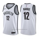 Camiseta Brooklyn Nets Joe Harris #12 Association 2017-18 Blanco