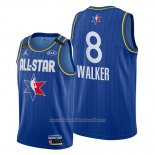 Camiseta All Star 2020 Boston Celtics Kemba Walker NO 8 Azul
